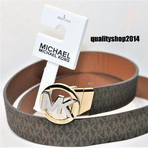 $48 Michael Kors Authentic Unisex Reversible MK